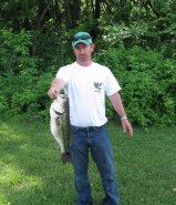 Eddie Medley 1st with 5.45 lbs BIG FISH