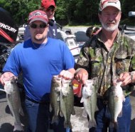Gary Monks; Rex Oneal  2nd Place/Wilson Lake